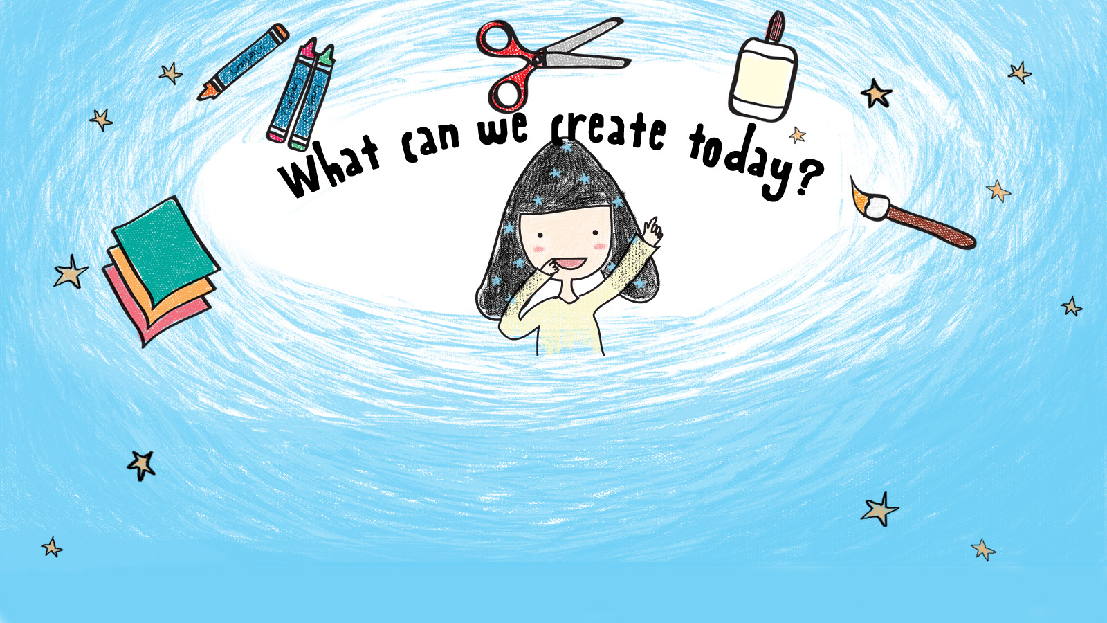What can we create today ?